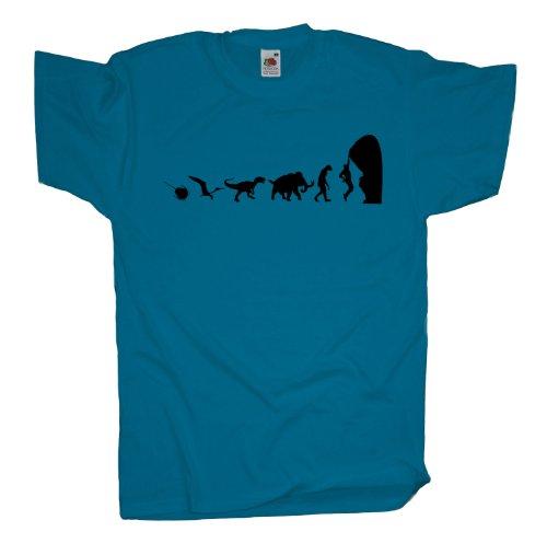 Ma2ca - 500 Mio Years - Climbing Kletter T-Shirt Azure