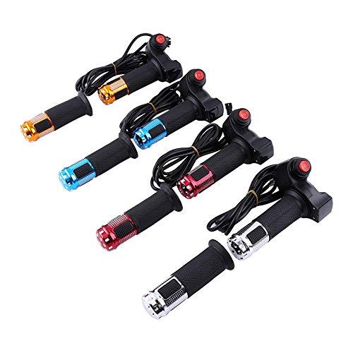 Huairdum Gasgriffe, 3 Rate mit LED-Display Griff Griff und Rate Control Grip Kabel für Li-Batterie für E-Bike (#2) -
