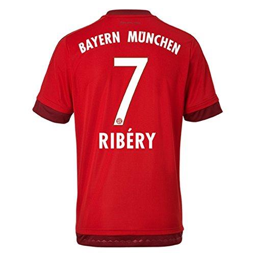 Trikot Adidas FC Bayern München 2015-2016 Home (Ribery 7, Small Boys 26-28