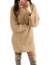e213e022ee Amazon.it: maglione con collo alto - Vestiti / Donna: Abbigliamento