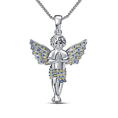 Vorra Fashion Cherub Engel Anhänger Wing Figur Betender Junge Charm