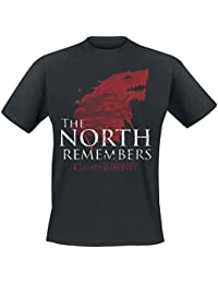 Game of Thrones House Stark - The North Remembers T-Shirt Black