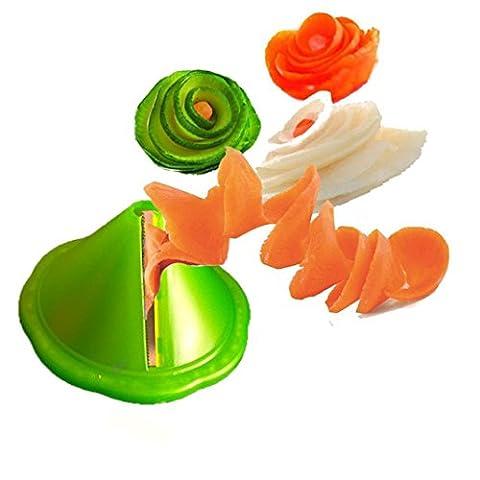 Obst und Gemüse HKFV, Kochen Werkzeuge Küche Gadget Creative Obst Gemüse Peeler Slicer Reibe Carve