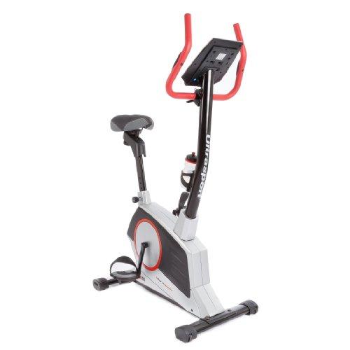 Ultrasport Home Trainer Racer 1000A con sensori delle pulsazioni e borraccia - Fitness bike con display multifunzionale, 12 programmi e 16 livelli di resistenza / Ergometro per principianti ed esperti