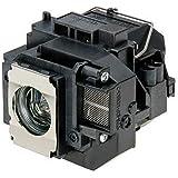 Supermait EP57 Lámpara de Repuesto para proyector con Carcasa, Compatible con Epson Elplp57, Adecuada