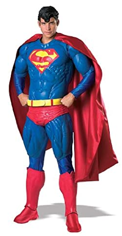 Adultes Collectors Costumes Superman - Rubies Costume Co 909865R Mens Collectors Edition
