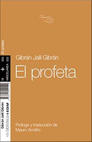 El profeta (Spanish Edition) by Jalil Gibran (2009-10-01) thumbnail