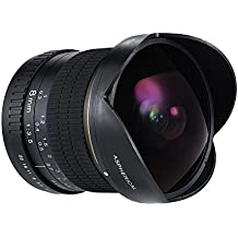 Andoer 8mm F/3.5 170° HD Lente de Ojo de Pez Asférica Circular para Nikon D7100 D7200 D7000 D300 D300S D5500 D810 D800 D800E D810A D600 D610 D700 D5 D4 D4S D3X D750 DSLR Cámaras de Full Frame