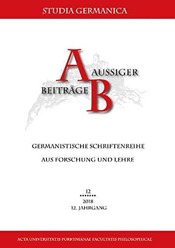 Regionale und korporative Identitäten und historische Diskontinuität (Aussiger Beiträge / Germanistische Schriftenreihe aus Forschung und Lehre)
