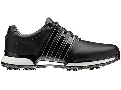 adidas Herren Tour360 Xt(Wide) Golfschuhe Schwarz (Plata/Negro Bd7127) 43 1/3 EU