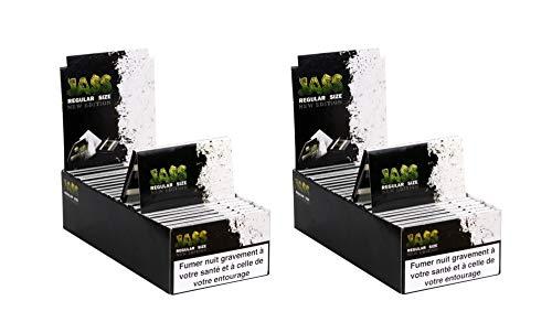 Feuilles à rouler Jass - 2 boites de 25 carnets