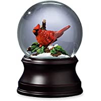 Sfmb Holiday Cardinal Snow Globe