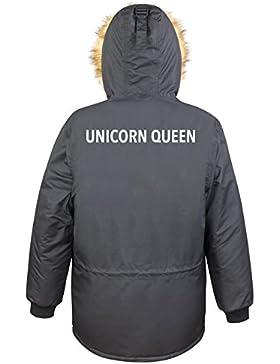 Unicorn Queen Parka Girls Nero Certified Freak