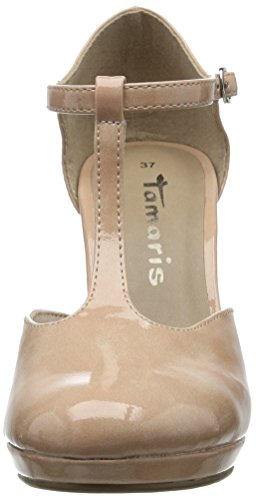 Tamaris Damen 24428 Pumps Pink (ROSE PATENT 575)