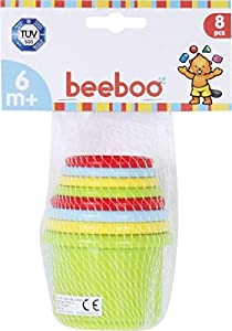 VEDES Großhandel GmbH - Ware beeboo Baby Baby Pyramide apilable, 8Piezas