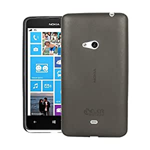 Defender Ultra Slim Thin Fit NOKIA LUMIA 625 Case with Semi-transparent Non Slip Matte Surface Back Cover Case for NOKIA LUMIA 625 - Black