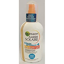 Garnier Ambre Solaire Clear Protect + Medium SPF 20 6.76 oz