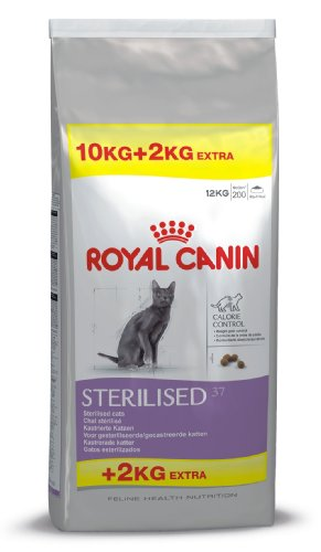 Royal Canin - Feline Sterilised 37 - Nourriture pour chat opéré - 1 x 12 kg