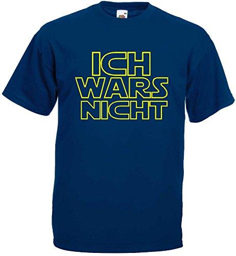 ICH WARS NICHT Herren T-Shirt Funshirt Star warsmarine-XXL