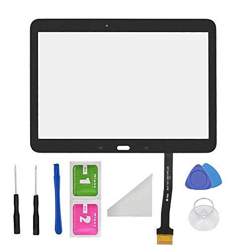 Galaxy 4 Ersatz-bildschirm Tab 7 (Schwarz Touch Screen Digitizer Panel Glas Ersatzteil für Samsung Galaxy Tab 410.1SM-T530T531T535selbstklebend und Tools)