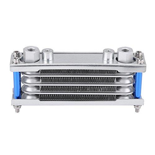 Kimiss oil Cooler, universale moto olio motore di raffreddamento radiatore per moto Dirt bike 50cc-200