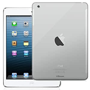 i-BLASON Apple iPad Air / iPad 5 Smart Cover Partner Crystal Clear Hard Snap On Slim-Fit Case (Smart Cover Compatible with Smart Cover Anchor Lock) (iPad Mini with Retina Display, Clear)