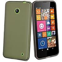 MCA MUSKI0334 - Funda minigel Lumia 630 humo negra