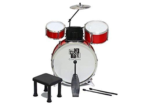 Concerto 708302 - Schlagzeug, 3 Trommeln Preisvergleich