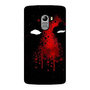 Luxirious Horror Red Back Case Cover for Lenovo K4 Note