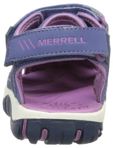 Merrell - Spinster Deck K, Sandali Unisex - Adulto Viola (Marlin)