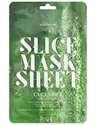 Kocostar Cucumber Slice Mask Sheet, 2er Pack(2 x 1 Stück)