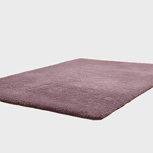 YLTD YLTDWohnzimmer Teppichbereich Fester Teppich Fluffy Soft Home Decor Weißer Plüsch Teppich Schlafzimmer Teppich Küche Fußmatten Weißer Teppich Tapetebunter runder Teppich runder weisser Teppich