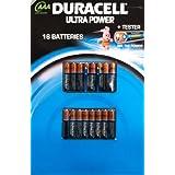 Duracell Ultra Power 16AAA Piles + Testeur