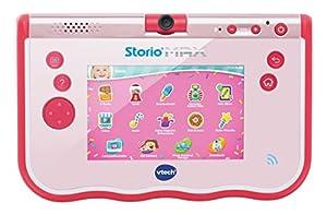 """VTech - Tablet Storio MAX de 5"""" para niños, Color Rosa, versión Alemana"""