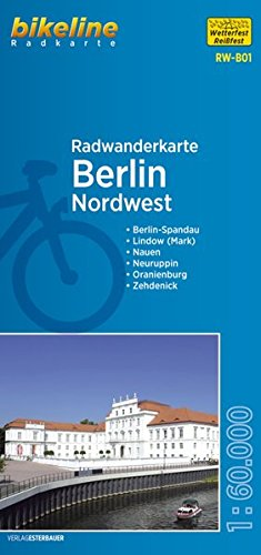 Berlin Northwest Cycling Tour Map 2016