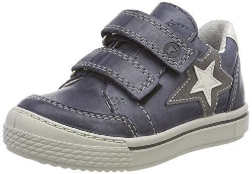 RICOSTA Jungen Lucas Sneaker, Blau (See 185), 34 EU