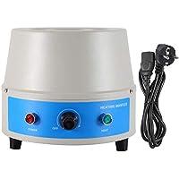 Controlador de temperatura digital eléctrico de 500 ml Herramienta de manto de calentamiento Manga de calentamiento eléctrico de temperatura constante(EU plug)