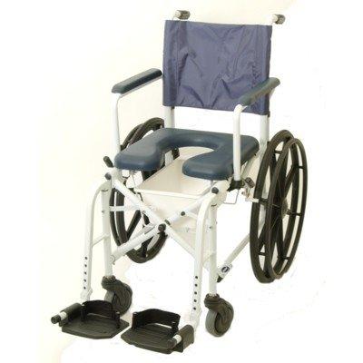 Invacare Marinertm Rehab Dusch- Kommode Rollstuhl Sitz Größe: 40.6cm Mit X 40.6cm D, Rad Typ: 58.4cm Profil Urethan Reifen
