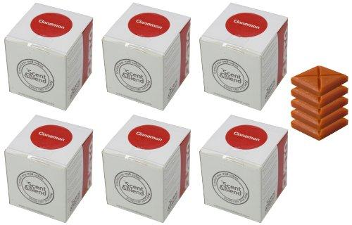 Gusta Duftwachstabletten 'Scent & Blend' 5 Tabletten 'Zimt' 6er Set (360 g)