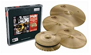 Cymbales PAISTE 2002 CLASSIC LIMITED - PACK 14/18/20 + CRASH 16 OFFERTE Packs de cymbales