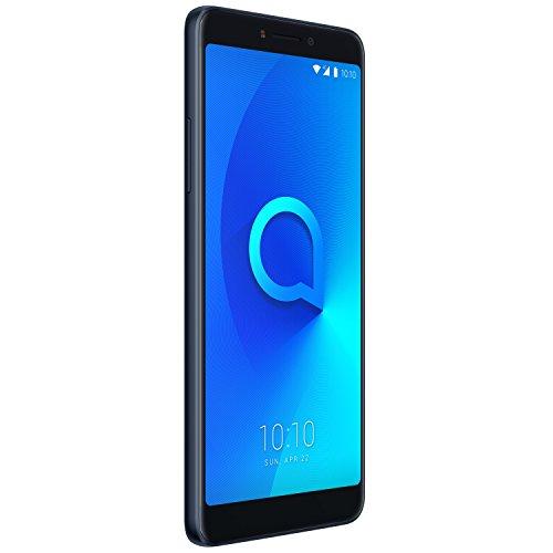Alcatel 5099D-2CALWE2 15,24 cm (6 Zoll) 3v, Smartphone, 16GB Spectrum Schwarz