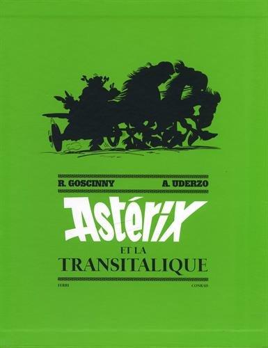 Asterix Tome 37 Asterix Et La Transitalique Art Book Numerote