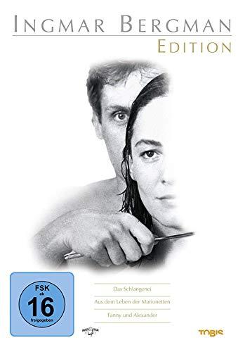 Die Meisterwerke von Ingmar Bergman 1947 - 1982 - 8 Klassiker DVD Collection - Fanny und Alexander + Das siebente Siegel + Das Schweigen + Wilde Erdbeeren + Schiff nach Indialand u.a.: Alle Infos bei Amazon