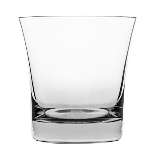 Cristal de Sèvres Vertigo Set de Verres à Whisky, Verre, 10 x 10 x 10 cm, Lot de 2