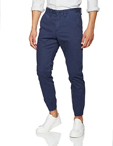 Vans Authentic Jogger, Pantalon Homme Bleu (Dress Blues Lkz)