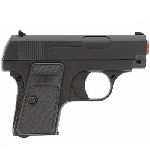 Agentenpistole für Fasching Airsoft Gun (Kostüme Bankräuber Halloween)
