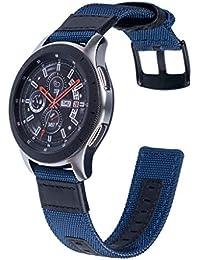 Watch Strap,Hengzi Nylon Adjustable Replacement Band Sport Strap for Samsung Galaxy Watch 46mm