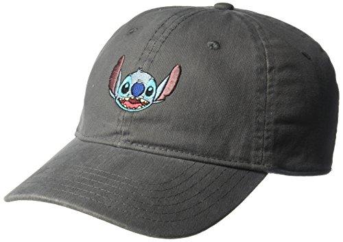 Lilo & Stitch: Embroidered Stitch Adjustable Washed Baseball-Cap