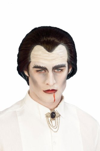 Forum Novelties Halloween Kostüm Zubehör Dracula Vampir Latex Perücke Kopfbedeckung (Forum Novelties Halloween)
