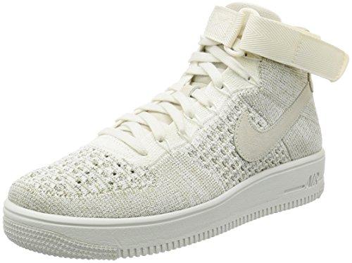 Nike Air Force 1 Ultra Flyknit Sneaker Turnschuhe Schuhe f眉r Herren Beige (Sail/Pale Grey)